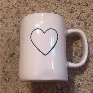 Rae Dunn Red Heart Mug